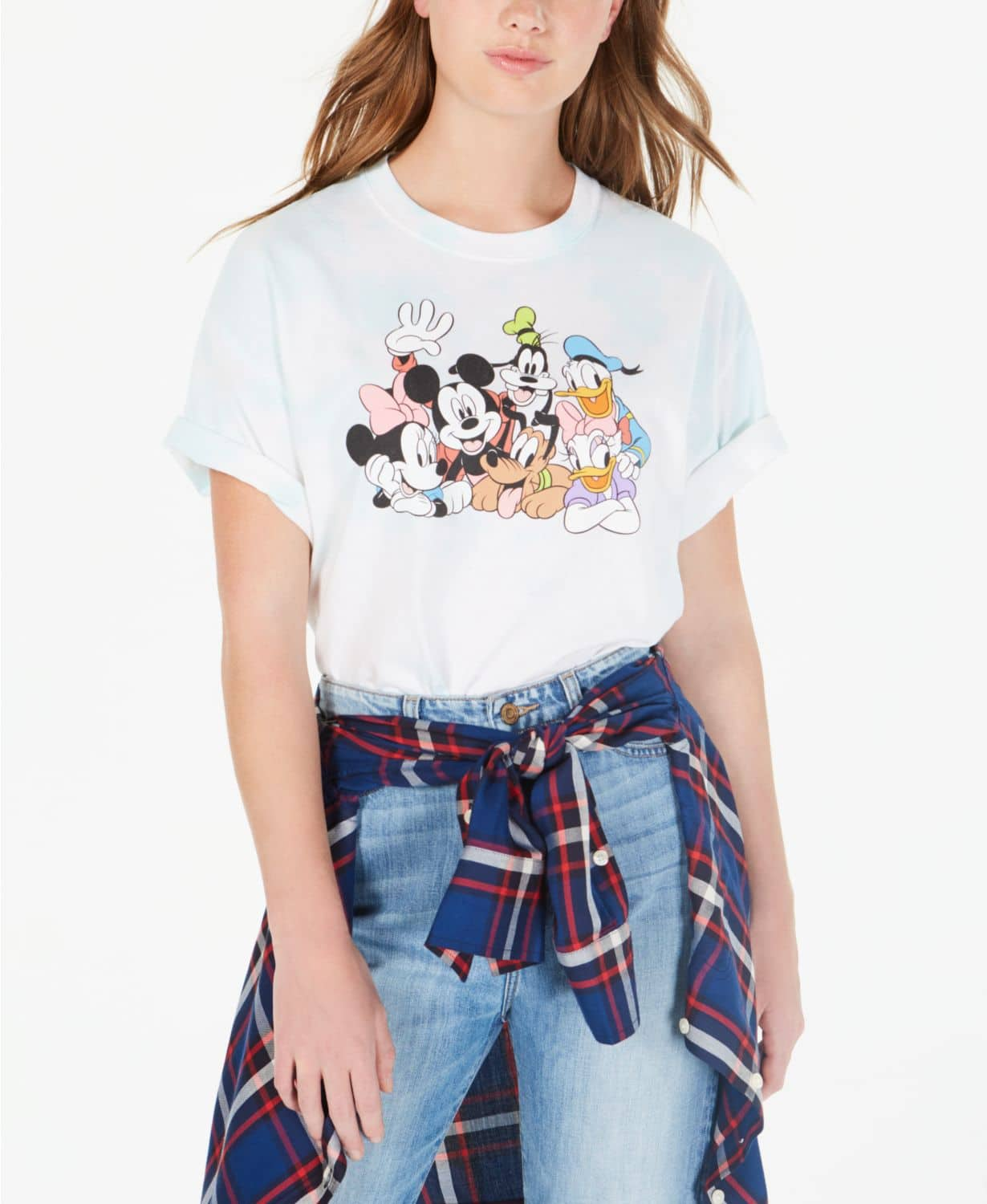 Disney Juniors' Mickey and Friends T-Shirt $10 & More + Free Shipping with orders $25+ at Macys
