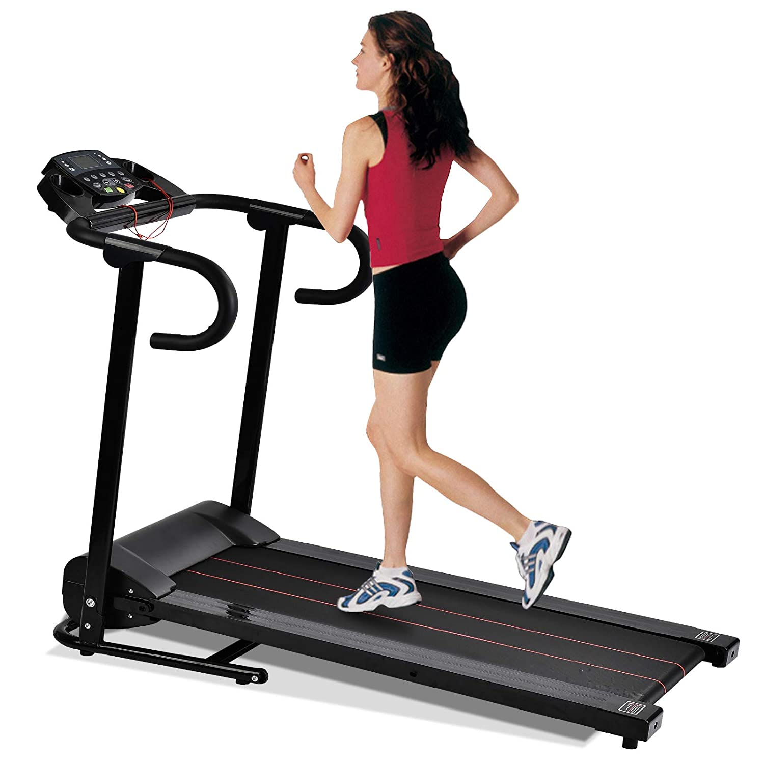 Murtisol 1100W Compact Electric Folding Treadmill with Safe Handle Bar and LCD Display Control $237.50 + Free S/H
