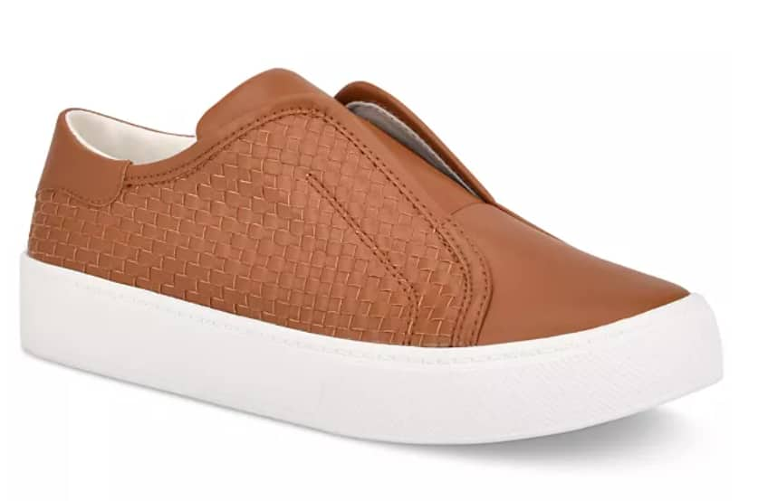 Marc Fisher Women's Sanela Woven Sneakers (Cognac or Navy) as low as $26.50 + Free Shipping
