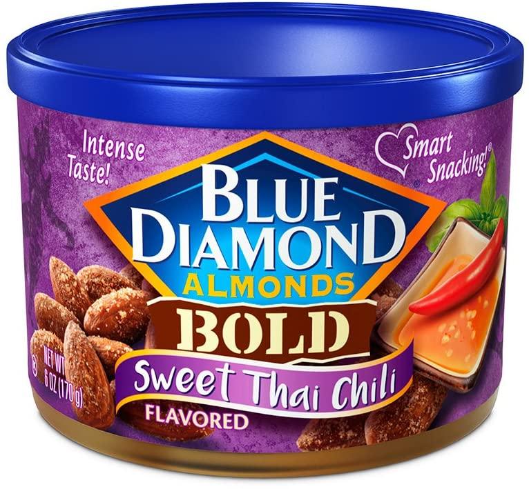 6-Oz Blue Diamond Almonds (Sweet Thai Chili)) $2.16 w/ S&S + Free Shipping w/ Prime or on $25+