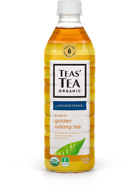 Amazon Warehouse: 12-Pack 16.9-Oz Teas' Tea Unsweetened Golden Oolong Tea $8.72 + Free Shipping w/ Prime or on $25+