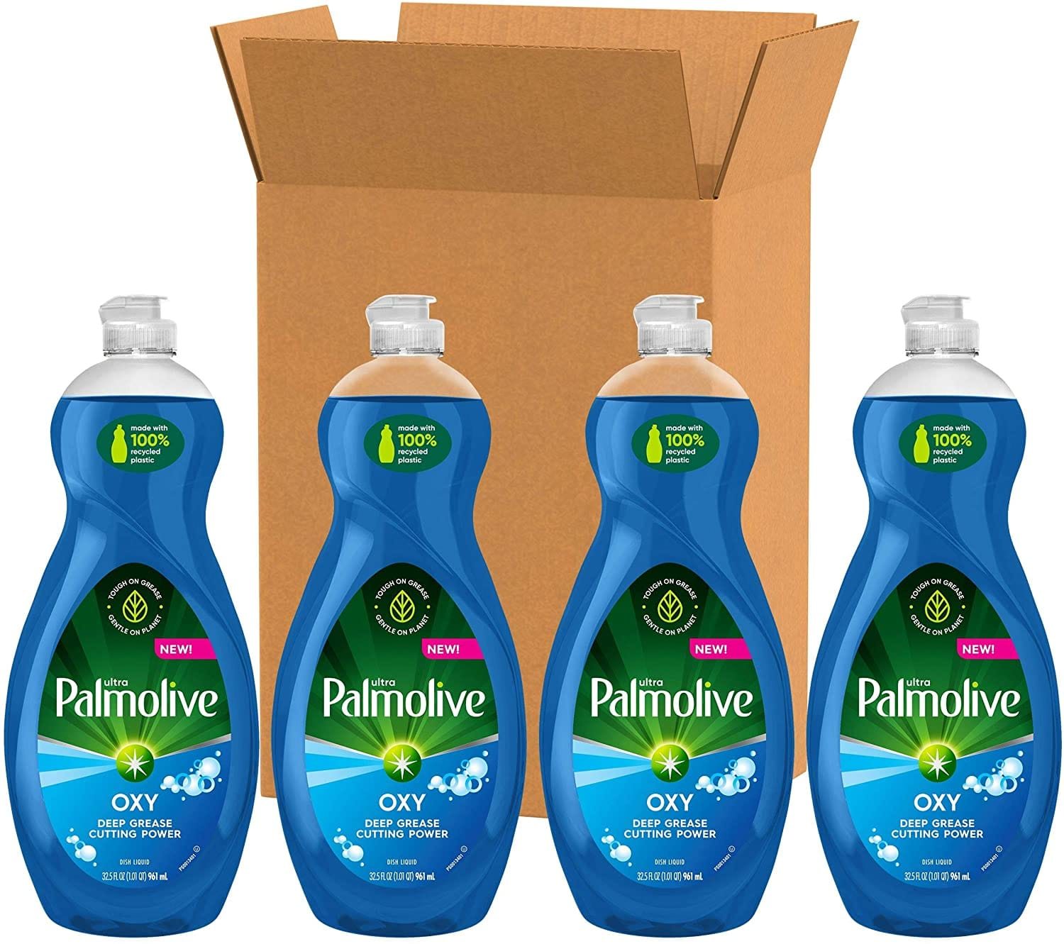 4-Pack 32.5-Oz Palmolive Ultra Dish Soap (Oxy Power Degreaser) $8.98 w/ S&S + Free Shipping w/ Prime or $25+