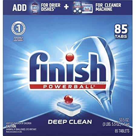 85-Count Finish Powerball Dishwasher Detergent Tablets (Fresh) $8.54 w/ S&S + Free Shipping w/ Prime or on $25+
