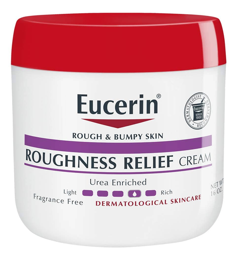 Prime Members: 16-Oz Eucerin Roughness Relief Cream $4.68 w/ S&S + Free Shipping