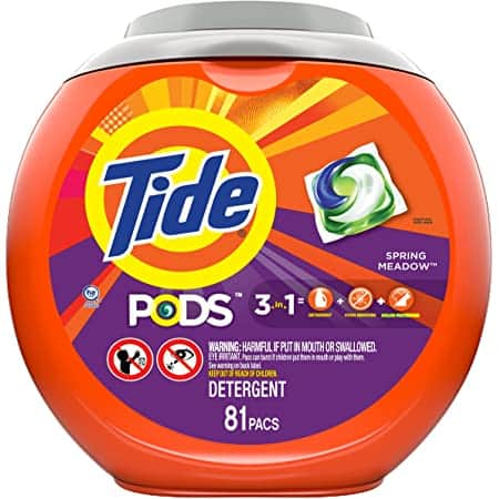 *Back* Prime Members: 81-Count Tide Pods Laundry Detergent Pacs (Spring Meadow) $9.99 w/ S&S + Free Shipping