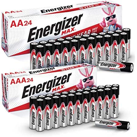 *Back* 48-Ct Energizer MAX Battery Combo Pack (24-Ct AA + 24-Ct AAA) $14.84 w/ S&S + Free Shipping