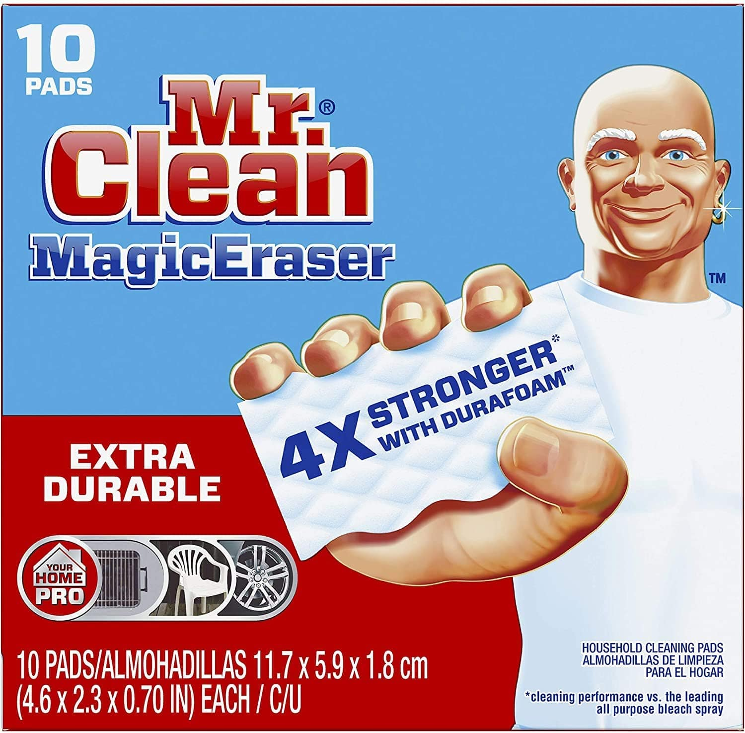 10-Count Mr. Clean Magic Eraser Extra Durable $7.79 w/ S&S + Free Shipping w/ Prime or on $25+