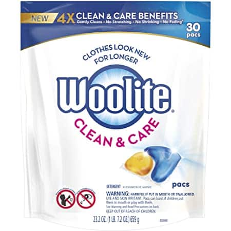 30-Ct Woolite Laundry Detergent $7.79 & More w/ S&S + Free Shipping w/ Prime or on $25+