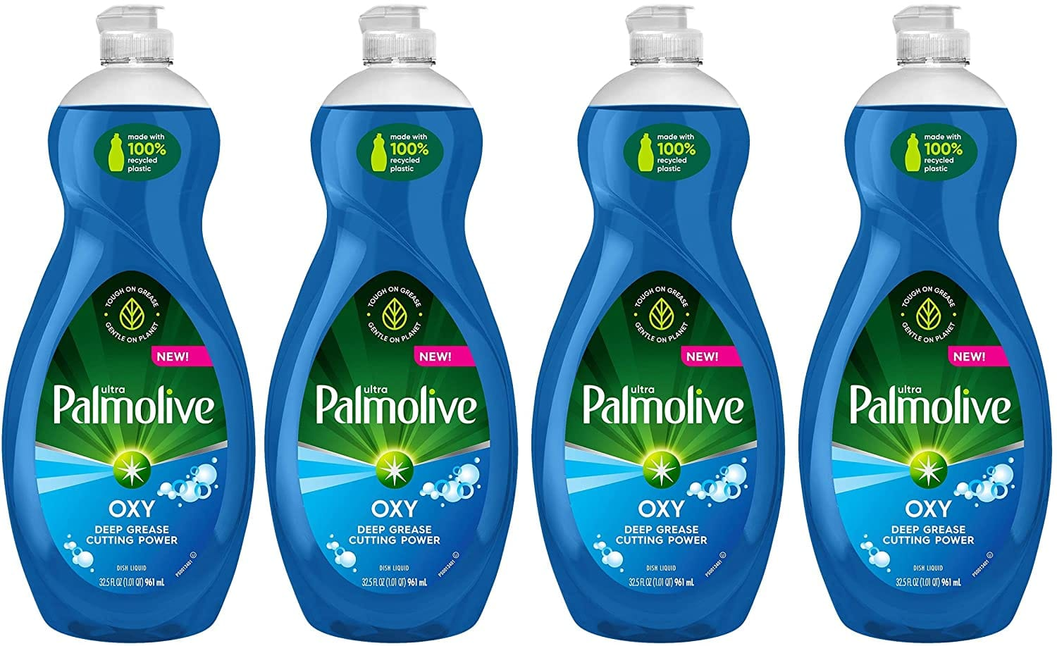 4-Pack 32.5-Oz Palmolive Ultra Dish Soap (Oxy Power Degreaser) $7.77 w/ S&S + Free Shipping w/ Prime or $25+