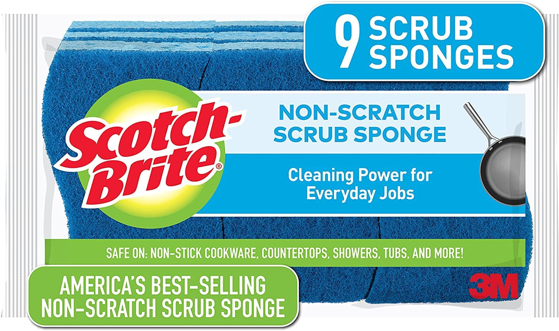 9-Count Scotch-Brite Non-Scratch Scrub Sponges $4.22 w/ S&S + Free Shipping w/ Prime or $25+