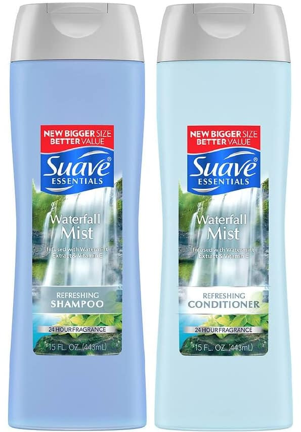 15-Oz Suave Essentials Shampoo or Conditioner 2 for $0.00 + Free Store Pickup at Walgreens ($10.00 minimum order subtotal required)