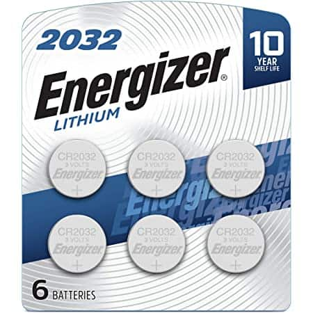 6-Count Energizer CR2032 3V Lithium Coin Batteries $5.09 w/ S&S + Free Shipping w/ Prime or $25+