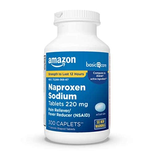 200-Ct Amazon Basic Care Extra Strength Acetaminophen Caplets $2.91 w/ S&S + Free Shipping w/ Prime or on $25+