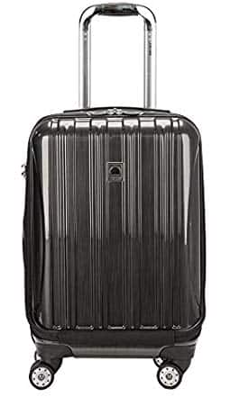 "Delsey 19"" Helium Aero Carry-on Luggage w/ Spinner $60 + free shipping with Prime"