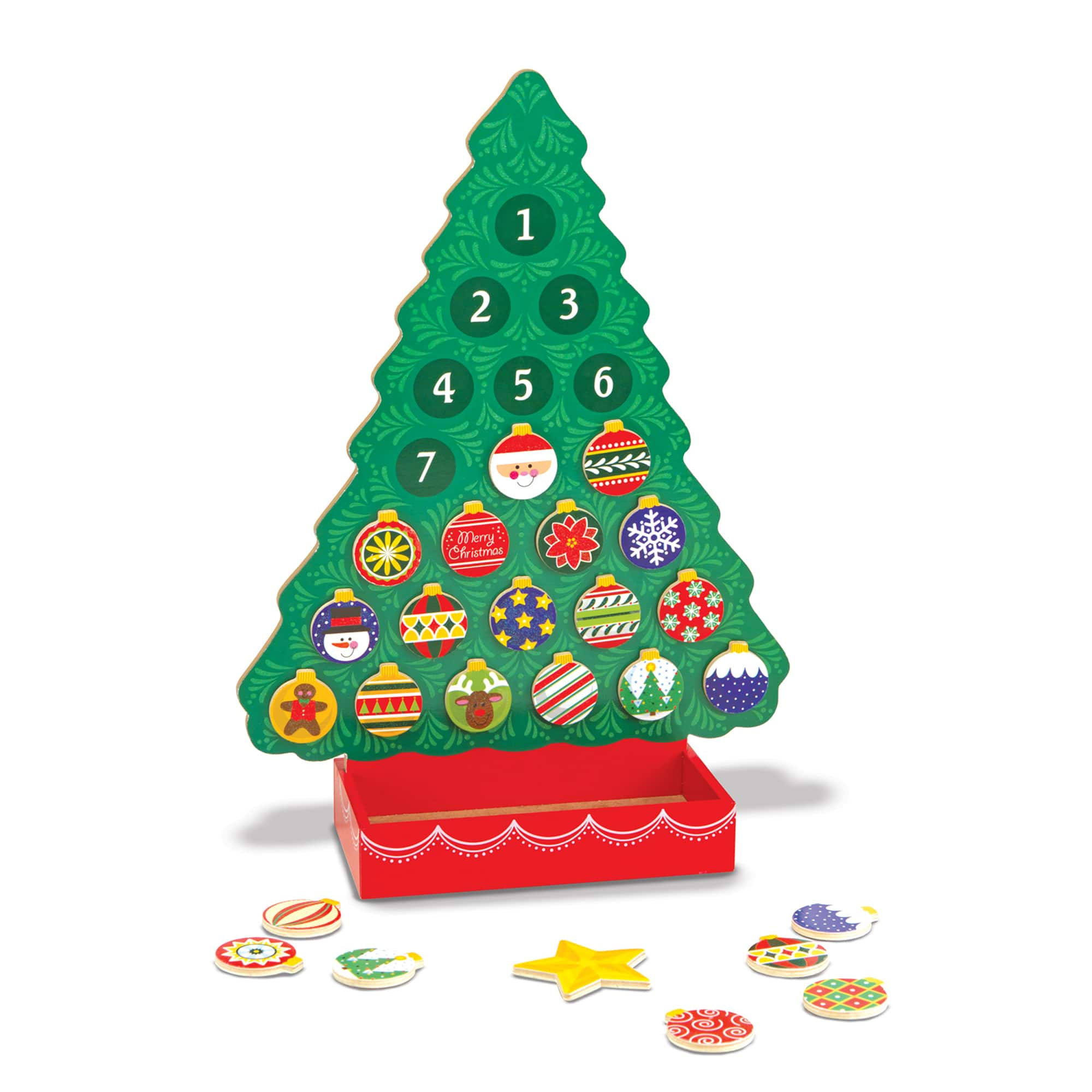 Melissa & Doug: Countdown to Christmas Wooden Advent Calendar $10.49, Stainless Steel Pots & Pans Play Set $14.25 & more + free S/H w/ Prime