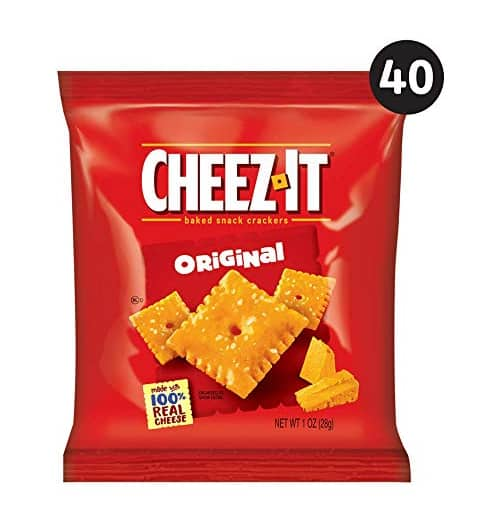 40-Count Cheez-It Baked Snack Cheese Crackers (Original) $8.31 w/ S&S & More + Free S/H