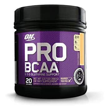 20-Servings Optimum Nutrition Pro BCAA Powder with Glutamine (Peach Mango) $7.09 w/ S&S + Free S&H