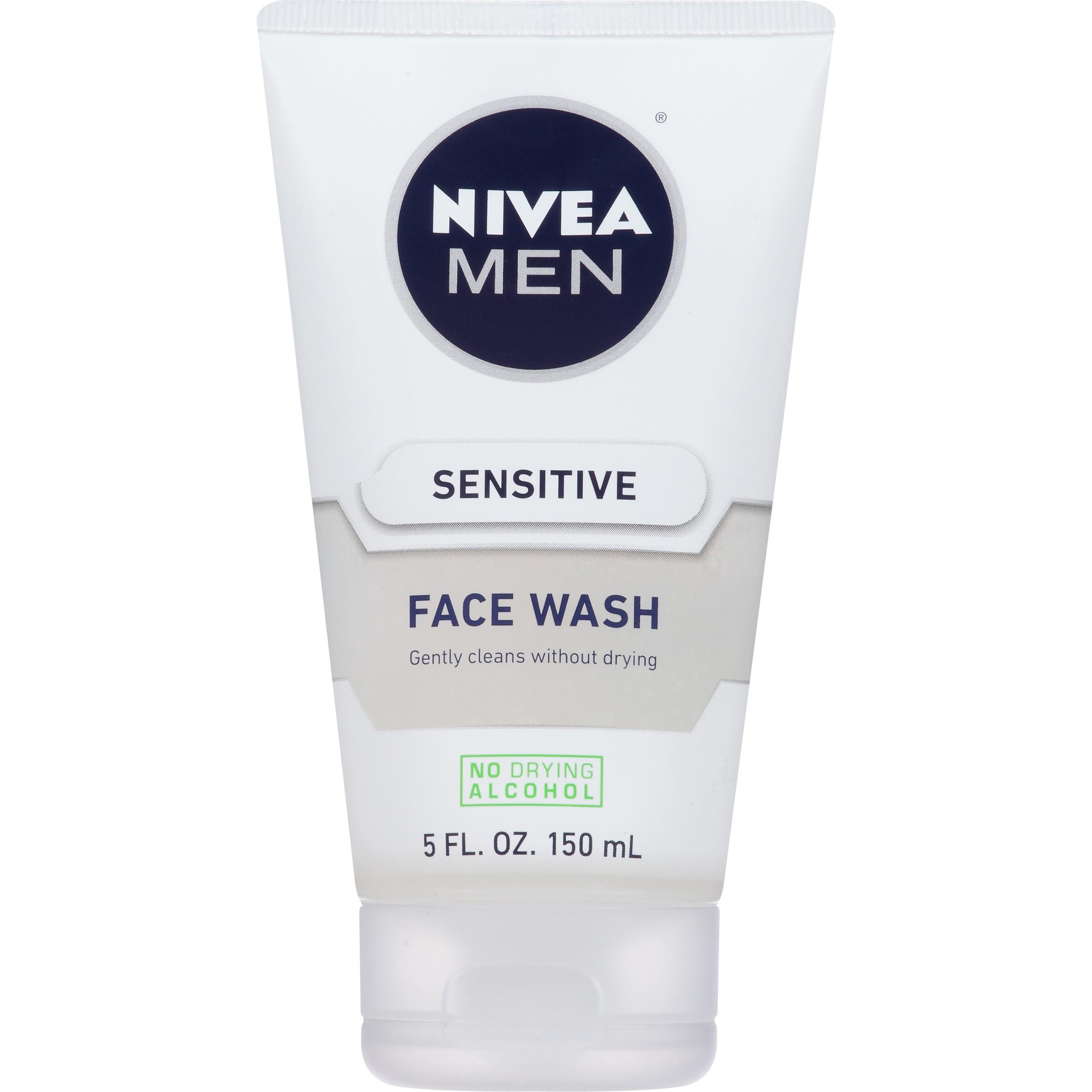 5-oz Nivea Men Sensitive Face Wash $2.63 w/ S&S + Free shipping
