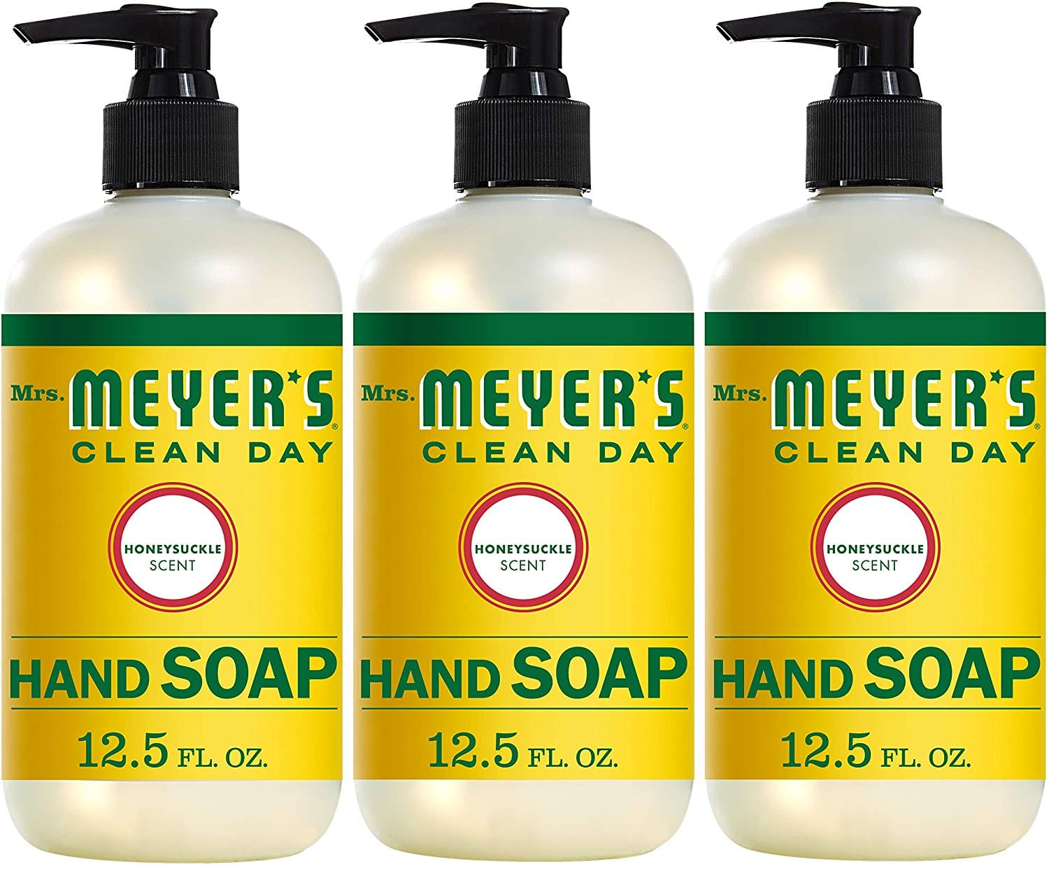3-Pack 12.5oz Mrs. Meyer´s Clean Day Hand Soap (Honeysuckle) $8.38 w/ S&S + Free S&H