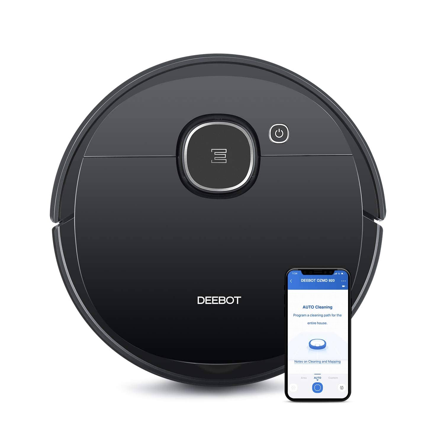 Ecovacs DEEBOT OZMO 920 2-in-1 Vacuuming & Mopping Robot with Smart Navi 3.0 $350 + Free Shipping