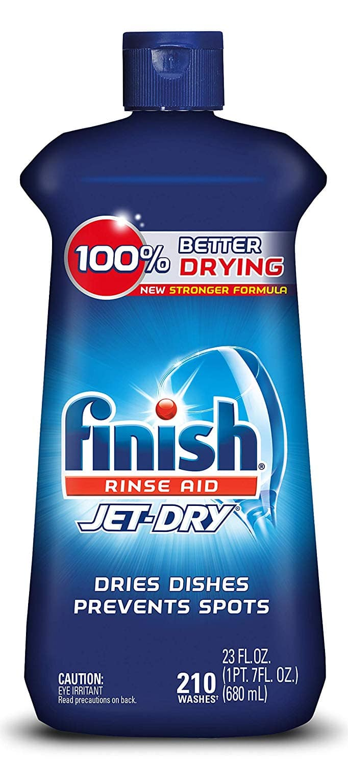 23-oz Finish Jet-Dry Dishwasher Rinse Agent & Drying Agent 3 for $14.60 ($4.87 each) w/ S&S + Free S&H