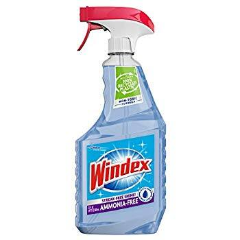 23-oz Windex Ammonia Free Glass Cleaner (Crystal Rain) $1.90 w/ S&S & More + Free S&H