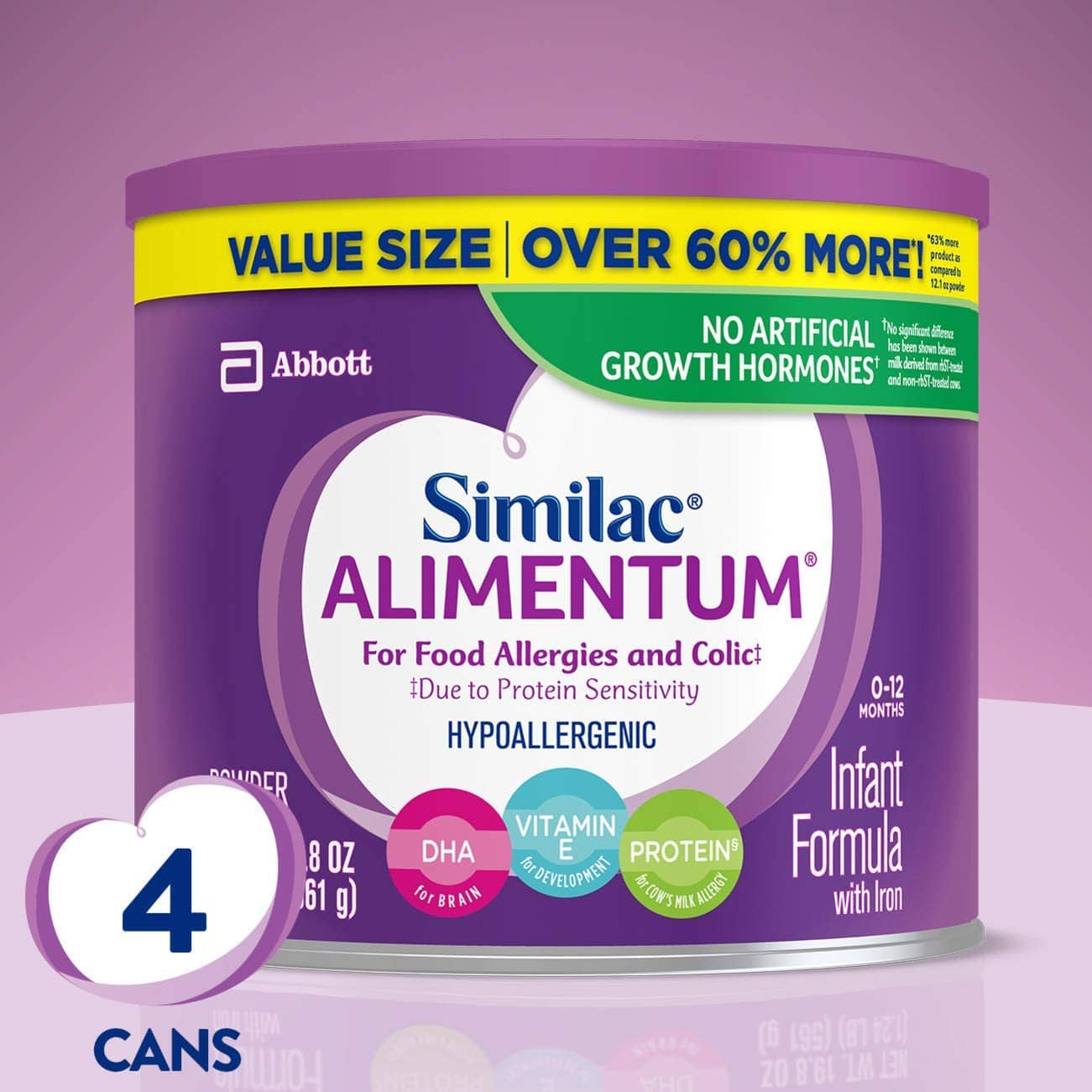 Alimentum Ready To Feed 2 Oz 4-pack 19.8oz similac alimentum hypoallergenic infant formula expired