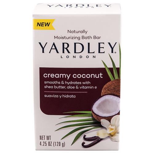 4.25-oz Yardley London Moisturizing Bath Bar (Creamy Coconut) $0.69 + Free Shipping