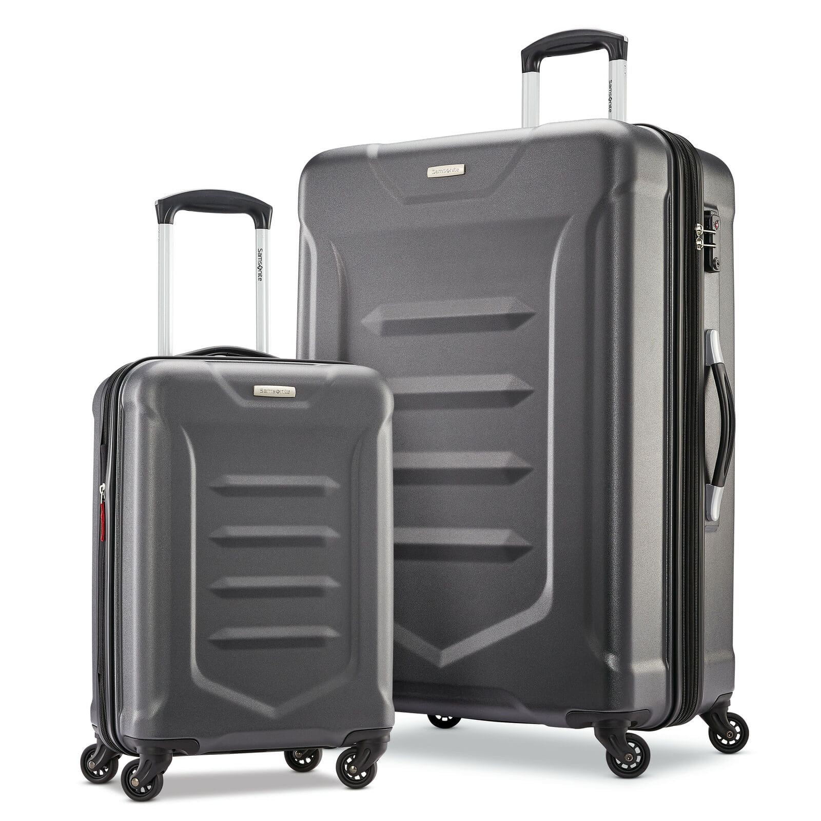 """2-Piece Samsonite Valor 2.0  Luggage Set (20"""" + 28"""", Charcoal or Teal) $104 + Free Shipping"""