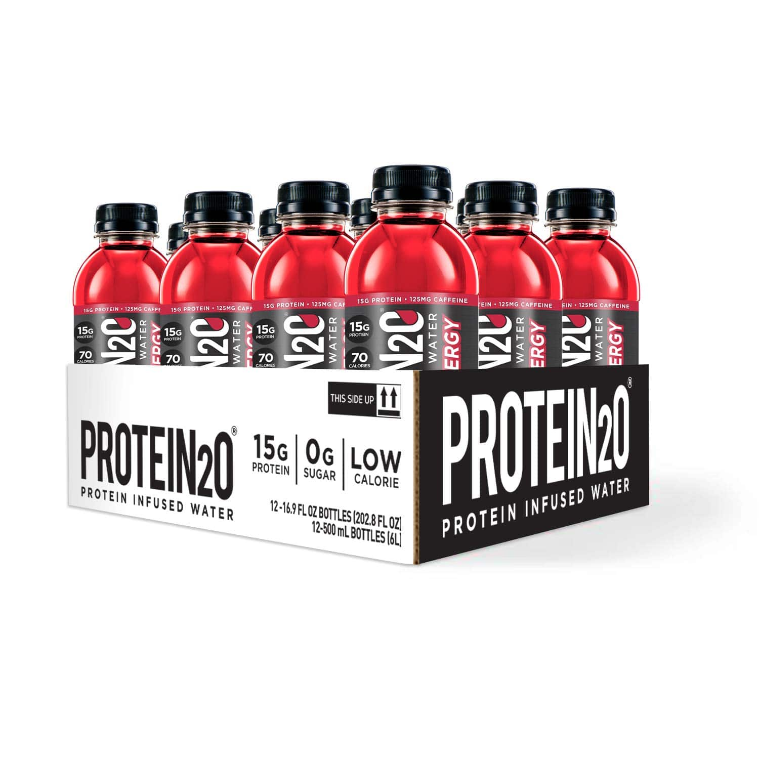 12-Pack Protein2o + Energy Low Calorie 15g Protein Infused Water (Cherry Lemonade) $9.87 w/ S&S + Free S&H w/ Prime or $25+