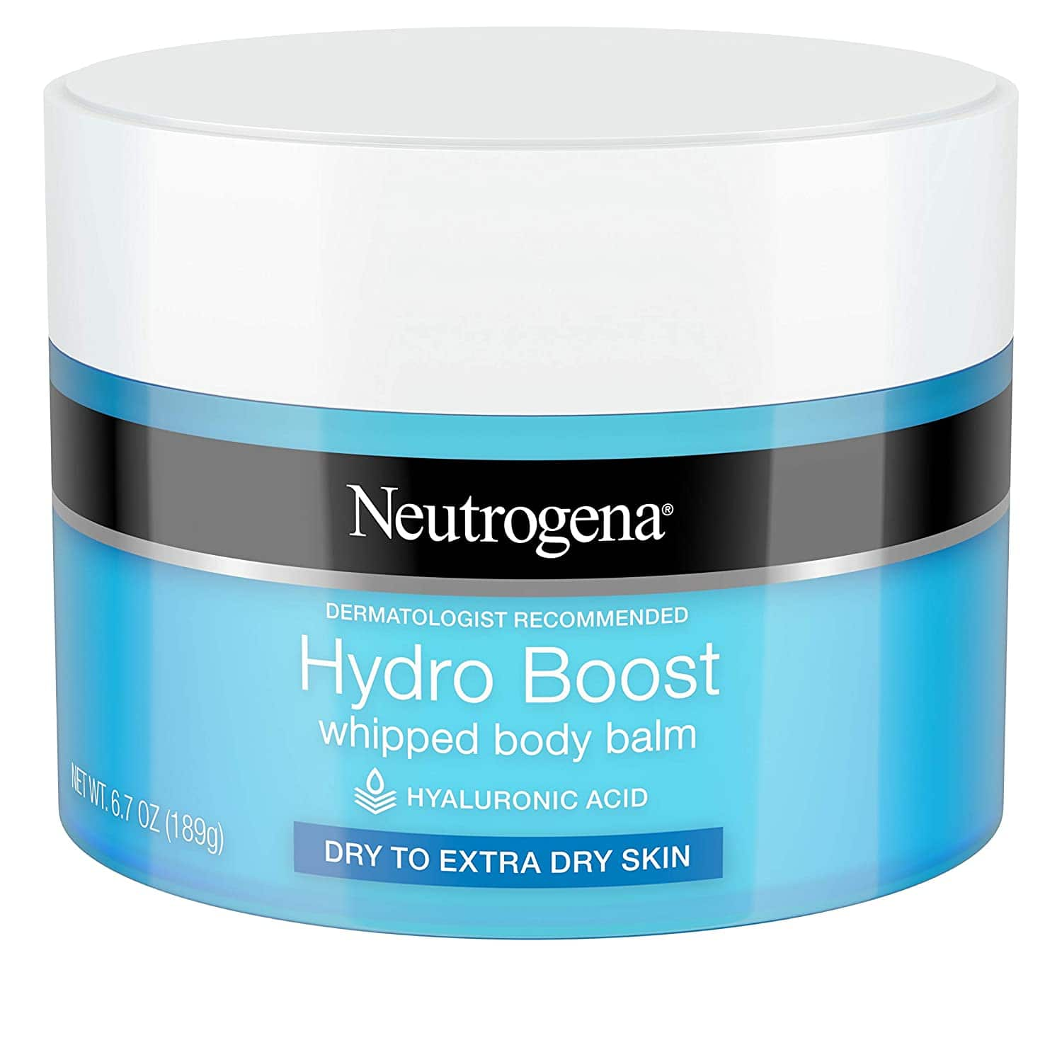 6.7-Oz Neutrogena Hydro Boost Hydrating Whipped Body Balm $4.36 w/ S&S + Free Shipping w/ Prime or $25+