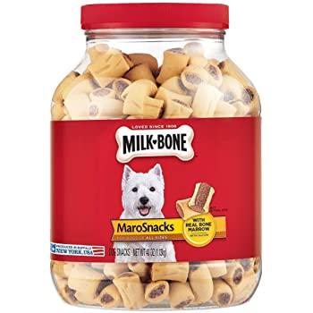 40-Oz Milk-Bone MaroSnacks Dog Treats w/ Real Bone Marrow & Calcium 2 for $11.50 ($5.75 each) w/ S&S + Free Shipping w/ Prime or $25+