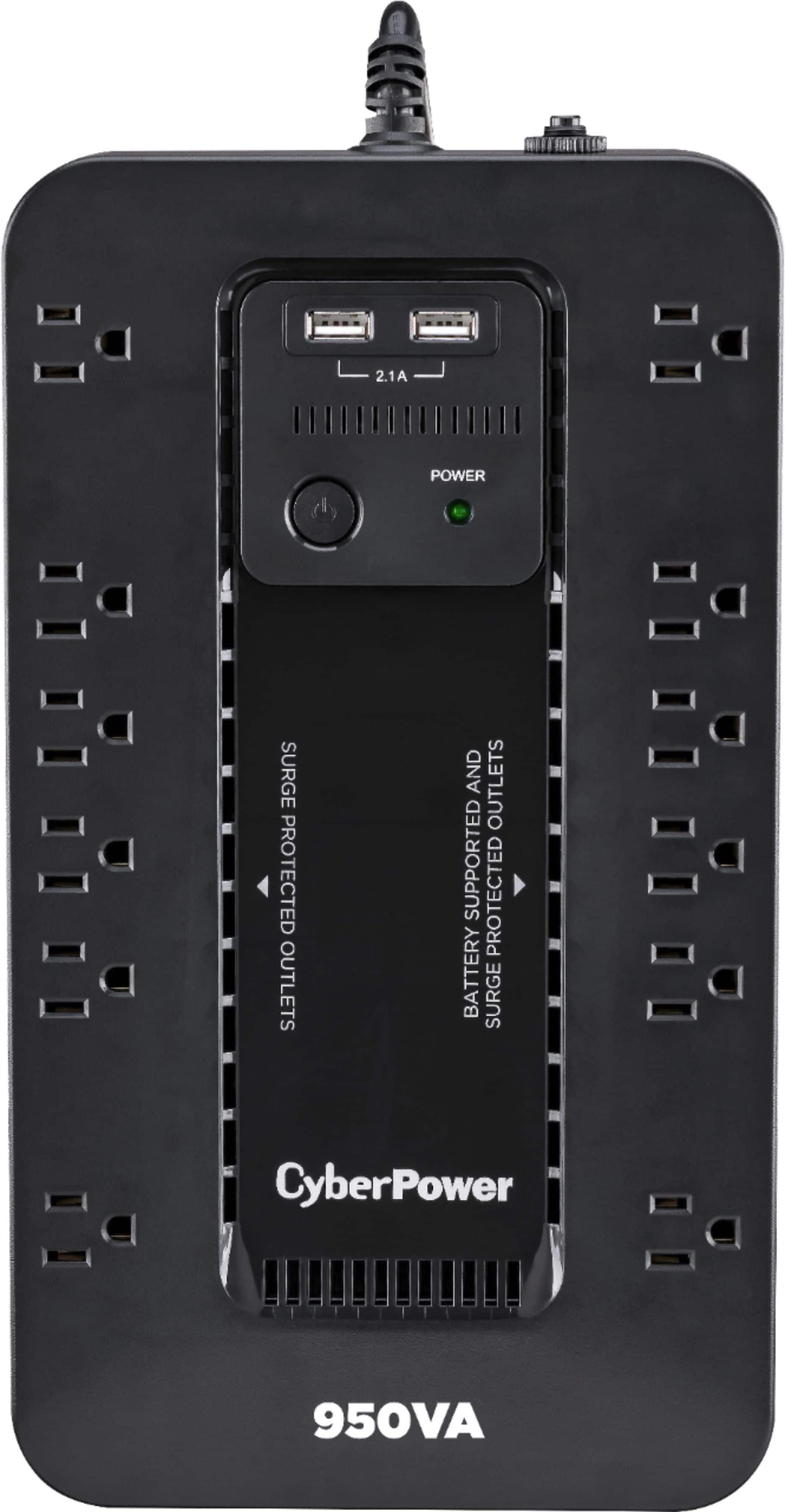 CyberPower 12-Outlet 950VA UPS Battery Backup System $70 + Free Shipping