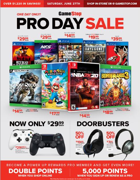 GameStop Pro Days Sale: Sid Meier's Civilization VI (Switch) $14 & More + Free Store Pickup