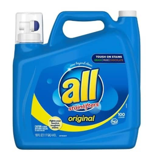 Target: 3-Count 150-Oz All Ultra Stain Lifter HE Liquid Laundry Detergent + $10 eGift Card for $25.26 & More + Free Store Pickup