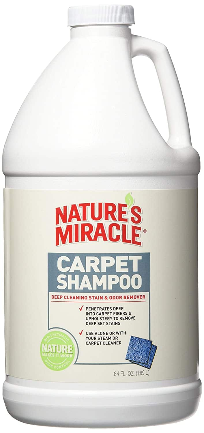 64-Oz Nature's Miracle Deep Cleaning Pet Stains & Odor Carpet Shampoo $4.92 + Free Shipping w/ Prime or $25+