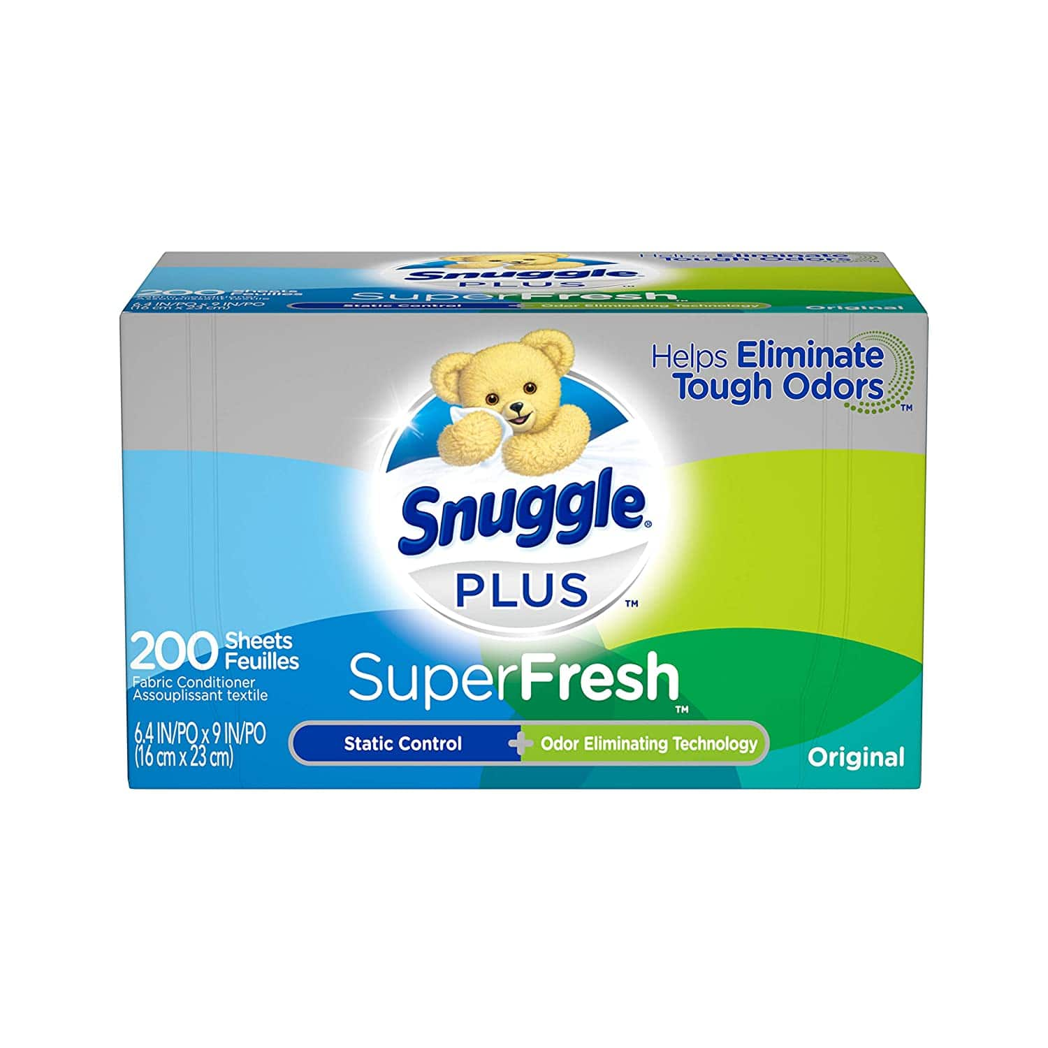 200-Ct Snuggle Plus SuperFresh Fabric Softener Dryer Sheets (Original or Spring Burst) 2 for $8.28 ($4.14 each) w/ S&S + Free Shipping w/ Prime or on $25+