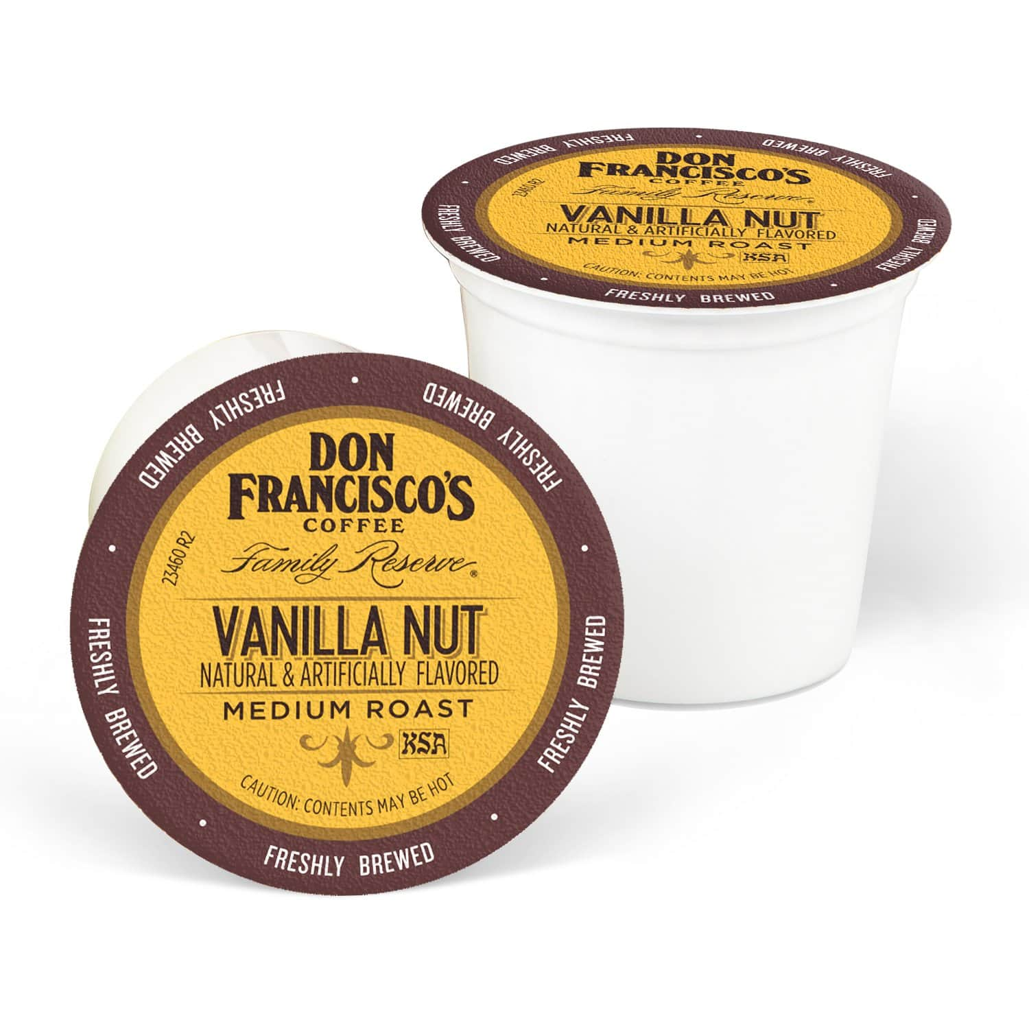 24-Ct Don Francisco's Medium Roast Coffee K-Cups (Vanilla Nut) $6 w/ S&S + Free Shipping w/ Prime or on $25+