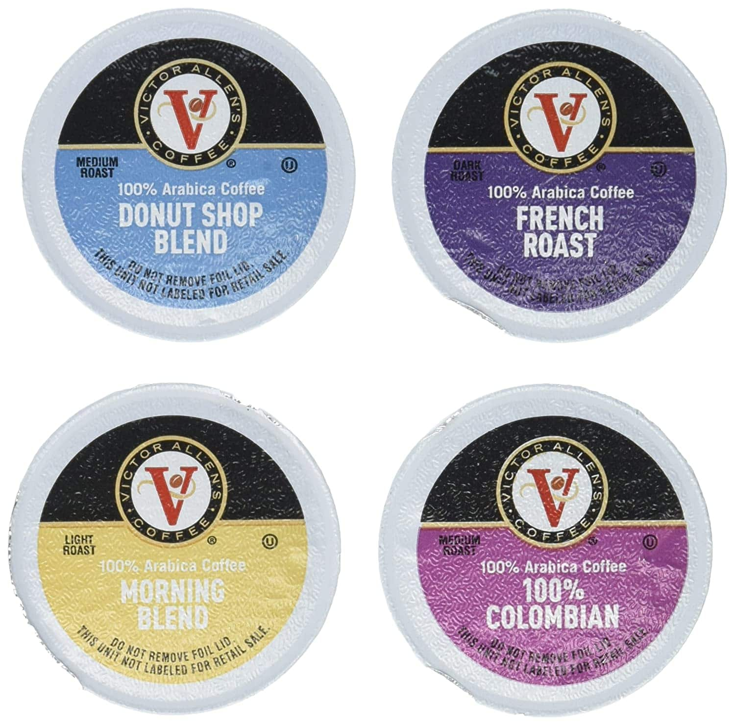 42-Count Victor Allen Single Serve Coffee K-Cup (Variety Pack) $9.80 w/ S&S + Free Shipping w/ Prime or on $25+