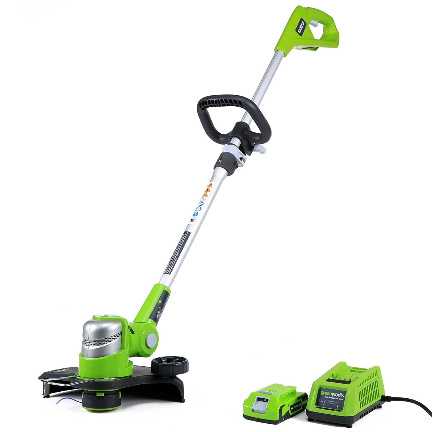 Greenworks 12-Inch 24V Cordless String Trimmer/Edger w/ 2.0Ah Battery $69.55 + Free Shipping