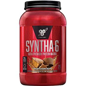 2.91-Lbs BSN Syntha-6 Whey Protein Powder (Chocolate Peanut Butter) $13.15 w/ S&S + Free Shipping w/ Prime or on $25+