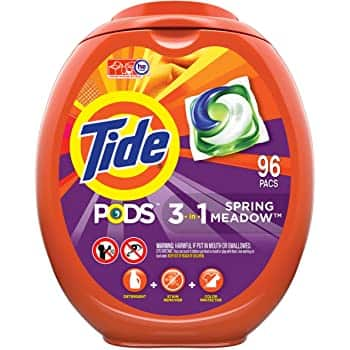 96-Ct Tide Pods HE Laundry Detergent Pacs (Various) 2 for $30.75 ($15.37 each) w/ S&S + Free Shipping