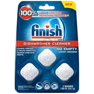 3-Count Finish In-Wash Dishwasher Cleaner Tablets $3.51 w/ S&S + Free Shipping w/ Prime or on $25+