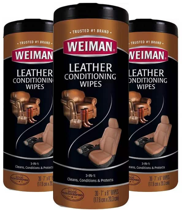 3-Pack 30-Ct Weiman Leather or Granite Wipes +$5 Target gift Card $11.37 + Free Store Pickup