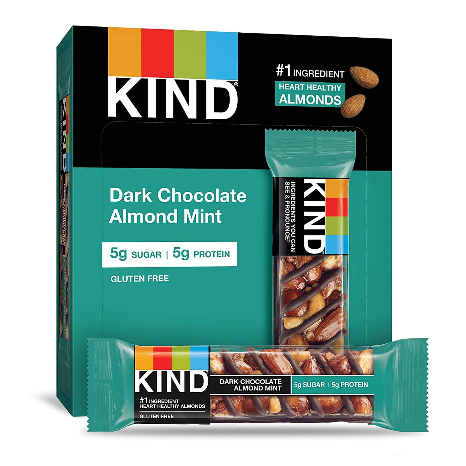 12-Count 1.4-Oz KIND Bar (Dark Chocolate Almond Mint) $8.79 w/ S&S + Free Shipping w/ Prime or on $25+