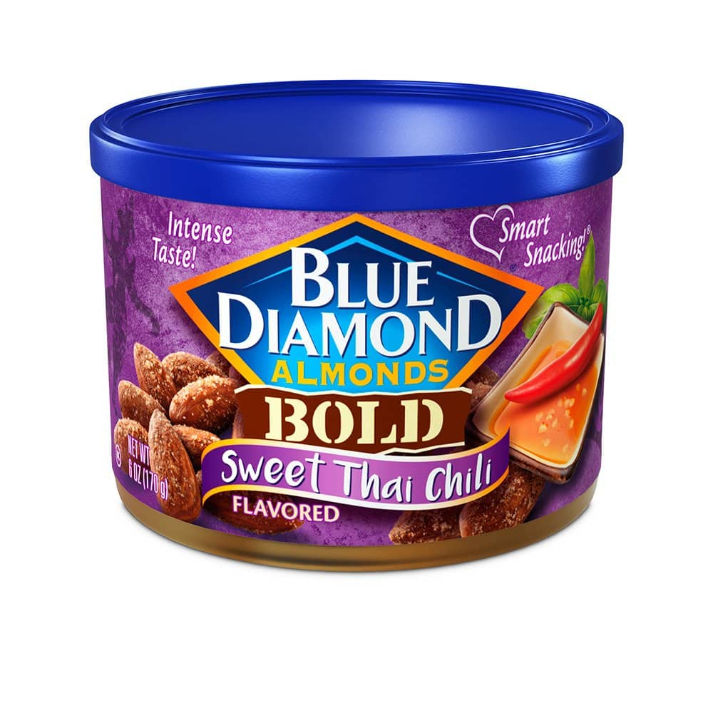 6-Oz Blue Diamond Almonds: Sweet Thai Chili $2.16, Spicy Dill Pickle $2.13 w/ S&S + Free Shipping w/ Prime or on $25+