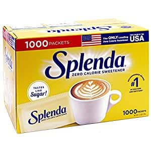 1000-Count Splenda No Calorie Sweetener Individual Packets $12.44 + Free Shipping w/ Prime or on $25+