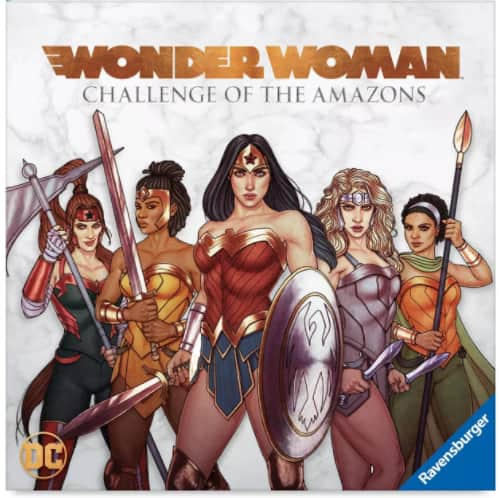DC Comics Wonder Woman: Challenge of the Amazons Board Game $17.50 + 2.5% in Slickdeals Cashback (PC Req'd) + FS on $35+