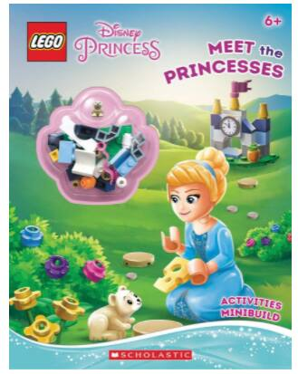 LEGO: Disney Princess Paperback Activity Book w/ Minibuild Set $6.11, Harry Potter Paperback Book w/ Minifigure From $4.60 + FS w/ Amazon Prime or FS on $25+