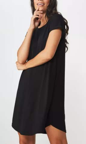 Cotton On Women's T-Shirt Dresses (various) $10.49 + 6% Slickdeals Cashback (PC Req'd) + Free Store Pickup at Macy's or FS on $25+